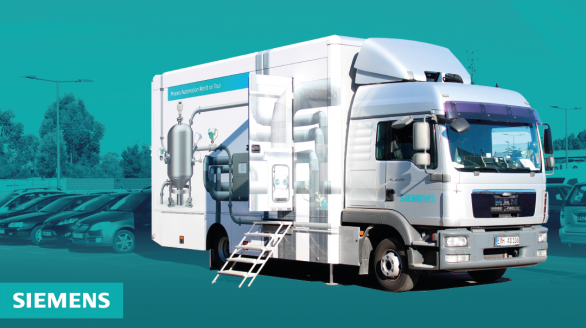 Camião Expositor Siemens - Process Automation World on Tour