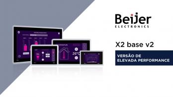 Nova versão HP (High Performance) das consolas de operação X2 base da Beijer Electronics