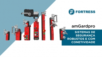 amGardpro - Sistema de segurança com conetividade e sistema mecânico de bloqueio da Fortress Interlocks