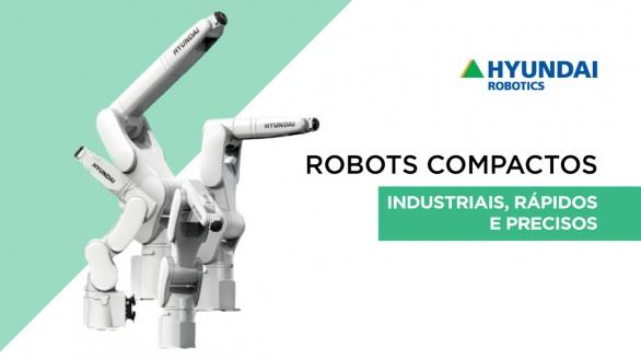 Robots Compactos Série HH da Hyundai Robotics