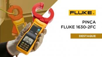 Pinça de medição de terra e fugas Fluke 1630-2 FC