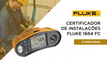 Certificador de Instalações Fluke 1664 FC