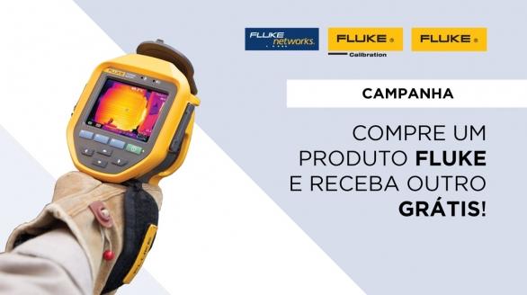 Compre um produto Fluke e escolha outro grátis!