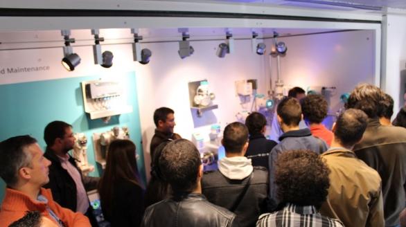 Camião Expositor 'Process Automation' da Siemens foi uma iniciativa de sucesso e de grande afluência