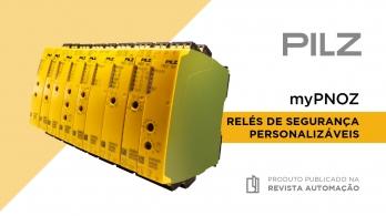 myPNOZ - Relés de segurança personalizáveis da PILZ