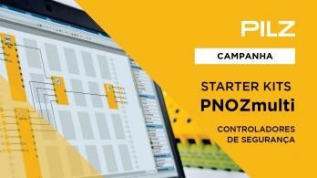 Controladores de Segurança - Starter Kits PNOZmulti da Pilz