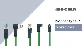 Escha - Conetividade para Profinet Type R