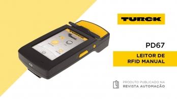 PD67 - Leitor RFID manual da Turck