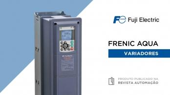 Variadores FRENIC AQUA da Fuji Electric