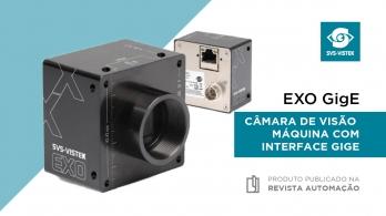 EXO GigE - Câmaras de visão máquina com interface GigE da Svs-Vistek