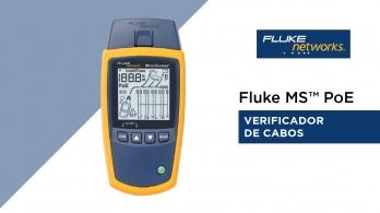 Verificador de cabos - Fluke MS™ PoE