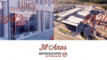 Bresimar Automação celebra 38 anos de existência!