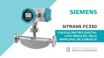 SITRANS FC330 - Caudalímetro digital com medição pelo princípio de Coriolis