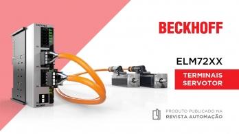 Terminais servomotor ELM72XX da Beckhoff