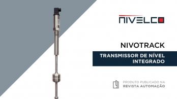 Nivotrack - Transmissor de nível integrado da NIVELCO