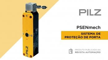 Sistema de proteção de porta PSENmech da PILZ