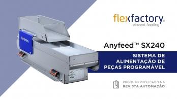 Alimentador vibratório SX240 da Flexfactory