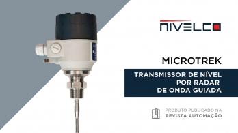 MicroTREK - Transmissor de nível por radar de onda guiada da NIVELCO
