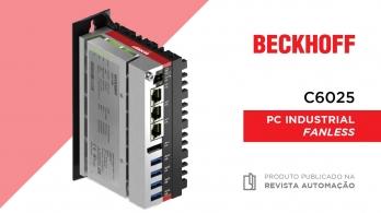 C6025 - PC Industrial da Beckhoff