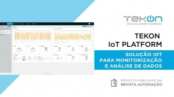 Tekon IoT Platform - Plataforma de monitorização e análise de dados em tempo real