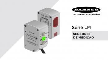 Lasers de medição série LM da Banner Engineering
