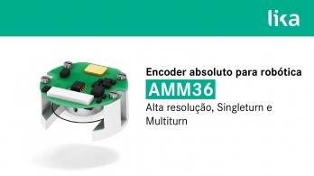 AMM36 da Lika Electronic - Encoder absoluto para robótica