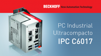 C6017 - The new BECKHOFF Ultra-compact IPC