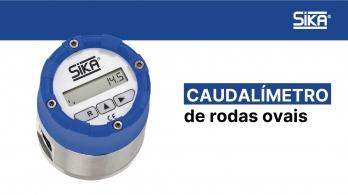 SIKA - Caudalímetro de rodas ovais