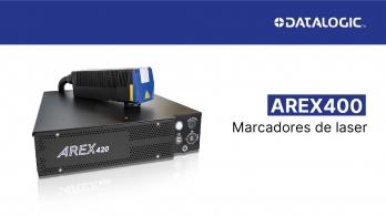 Marcador Laser AREX400 da Datalogic