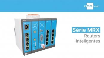 Série MRX da INSYS icom -  Routers inteligentes
