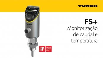 FS+ da Turck - Sensor de caudal e temperatura