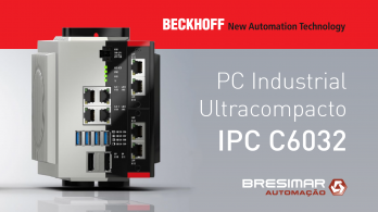 Beckhoff Launches New C6032 Ultra Compact Industrial PC