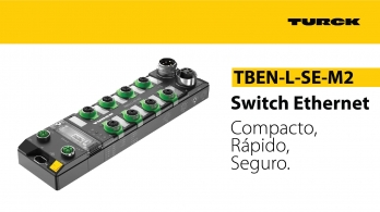 Turck - Switch Ethernet TBEN-L-SE-M2