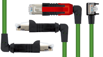 ESCHA launches New RJ45 cables with bonded, vulcanised bodies and a 90 degree cable outlet
