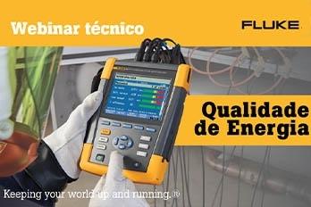 Webinar Fluke - Qualidade de Energia