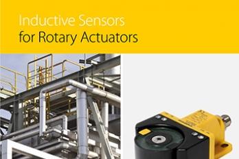 Inductive Sensors for Rotary Actuators - Turck