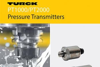 Pressure Transmitters PT1000 / PT2000 - Turck