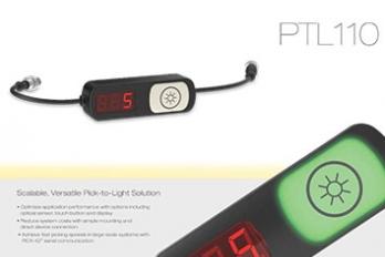PTL110 Pick-To-Light Solution