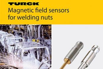 Magnetic Field Sensors for Welding Nuts - Turck