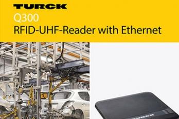 RFID-UHF-Reader with Ethernet Q300 - Turck