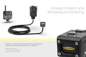 Wireless Vibration and Temperature Monitoring