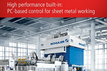 PC-based control for sheet metal working