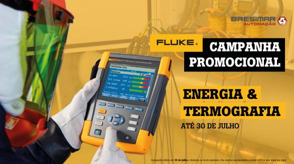 Campanha Promocional Fluke - Energia e Termografia