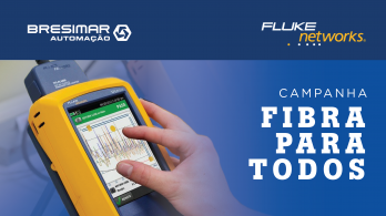 Fluke Networks Fiber for all campaign