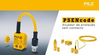 PSENcode da Pilz - Atuador de proteção sem contacto