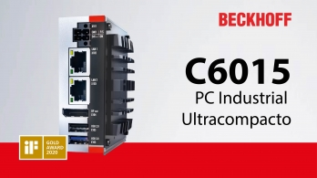 Beckhoff - C6015 PC Industrial Ultracompacto