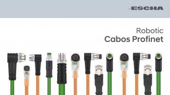Escha - Cabos Profinet Robotic
