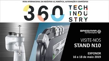 Bresimar Automation will be present at the 360 Tech Industry fair
