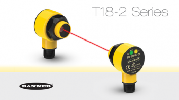 Banner Engineerings new T18-2 sensor series