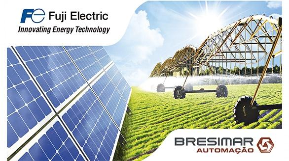 Solução para bombagem solar de elevado rendimento da Fuji Electric